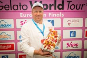 Erik Kuiper tijdens Europese finale