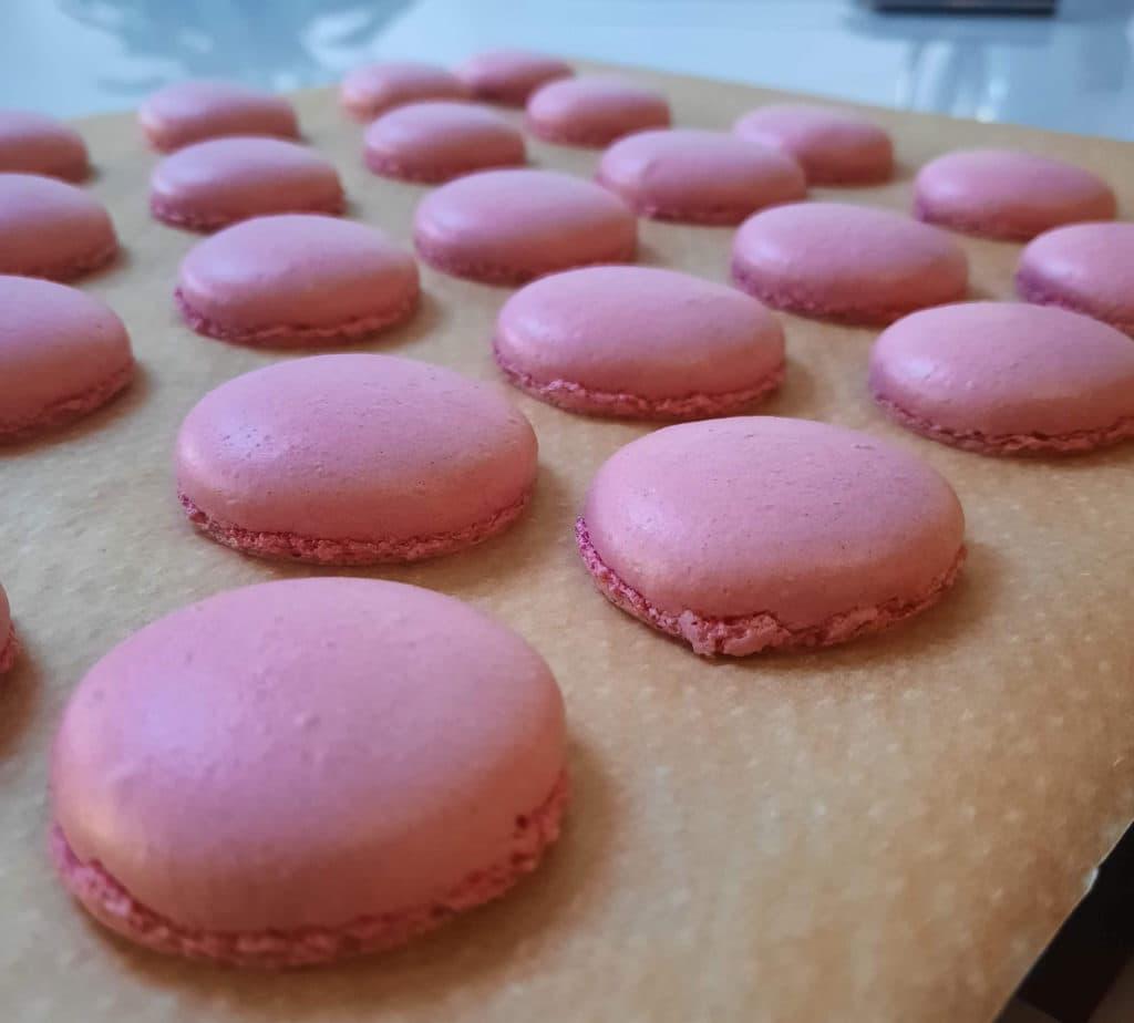 Macarons bakken